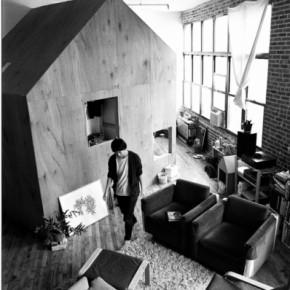 Loftの定番*家の中に小屋を建てる